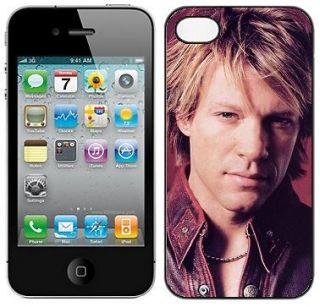JON BON JOVI #   hard case fits iphone 4 /4s mobile phone cover *NEW*