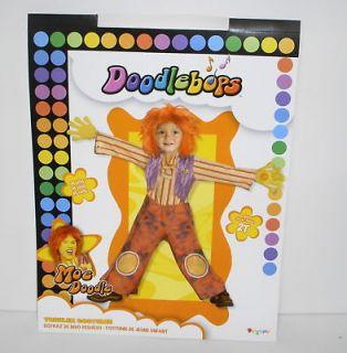 moe doodle doodlebops costume deluxe toddler 2t 6418 time left
