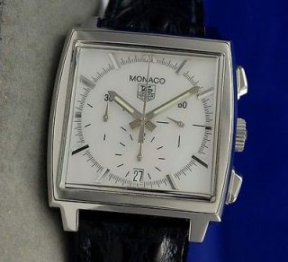 Newly listed Mens Tag Heuer Monaco Automatic Chronograph Watch   MOP
