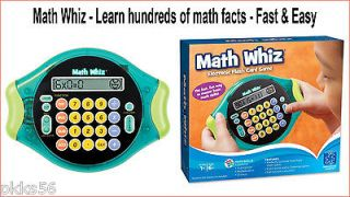 math whiz learn hundreds of math facts fast easy time left $ 19 99 buy
