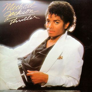 Michael Jackson   Thriller (1982) [NM/EX]   vinyl LP, feat. Beat It