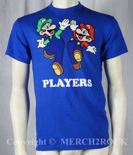 Authentic NINTENDO Super Mario Brothers Mario & Luigi T Shirt S M L XL