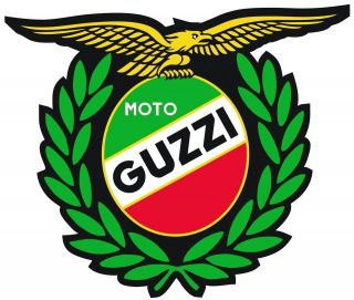 moto guzzi italy winner motorcycle helmet sticker from united kingdom