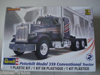 peterbilt 359 revell 85 1506 truck plastic model kit 1