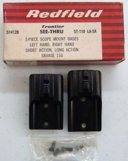 redfield savage 110 2 piece scope mount base 514120 time