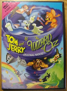 Newly listed TOM & JERRY & THE WIZARD OF OZ DVD BRAND NEW SEALED DVD.