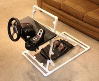 sim racing gaming steering wheel stand logitech g25 g27 ps3