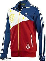 GENUINE ADIDAS PHILIPPINES MANNY PACQUIAO TRACK TOP JACKET XL