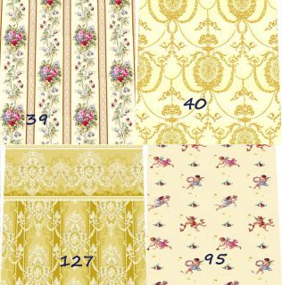 doll house cream wallpaper choice of 12 designs quality matte