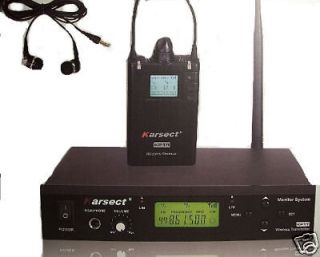 Koolertron WPM 100 Good Sound In Ear Stage Wireless Monitor System