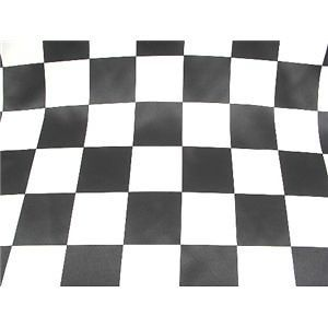 checkered race flag dull bridal satin fabric $ 6 99