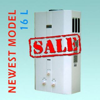 Water Heater   Propane Gas   4.3 GPM 4 Bath Whole House   Marey 16L