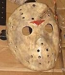 Jason Friday 13th X Hockey MASK HALLOWEEN HORROR prop Evil Space
