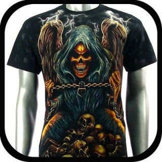 Rock Eagle T Shirt Limited Edition Vtg Tattoo E23 Sz XL Biker Street