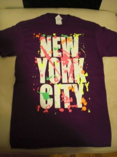 New York City Splatter Paint T Shirt. NYC, Splash, Justin Bieber wears