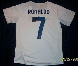 ronaldo real madrid jersey size medium adult