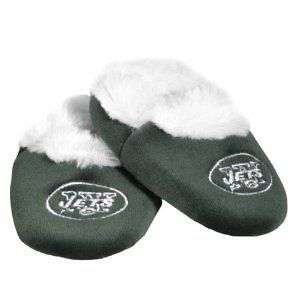 New York Jets NFL Football Logo Baby Bootie Slippers Shoes   Choose