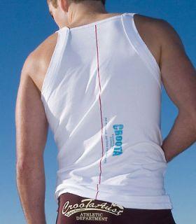 Croota Mens Tank Top T Shirts Gym wear (U.S Dealer / Discount Sale