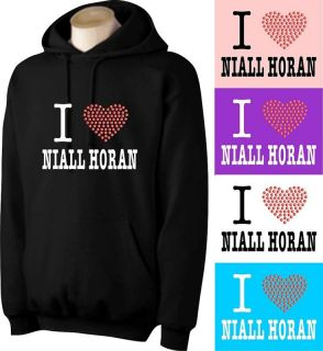 love niall horan hoodie with rhinestud heart at more options size