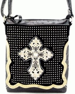 black studded cross body bag in Handbags & Purses