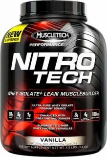MuscleTech Nitro Tech Performance Series Protein ALL FLAVORS 4lb