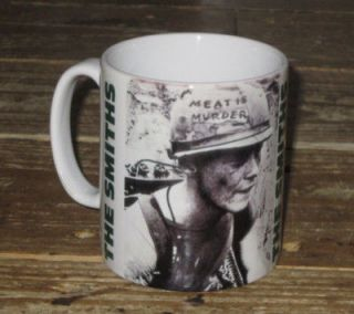 the smiths morrissey meat is murder advert mug from united