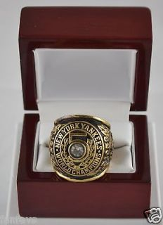 1953 NEW YORK YANKEES WORLD SERIES CHAMPIONSHIP 18K GOLD PLATED FAN
