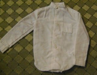 VINTAGE BARBIE Doll Kens WHITE DRESS SHIRT for American airlines(for