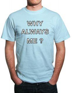 Mario Balotelli Why Always Me Man City funny football T Shirt All
