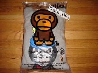 bape a bathing ape baby milo hoodie kaws xl shark og