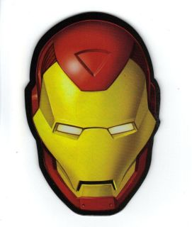 The Invincible Iron Man Helmet Refrigerator Locker Magnet MG 67892