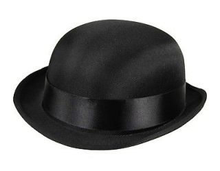 QUALITY Child SATIN Top Hat Bowler Derby Victorian School Play Costume