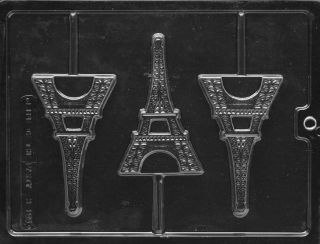 Miscellaneous EIFFEL TOWER Chocolate Candy Mold 4.5H x 2.75W x 1/2D 1