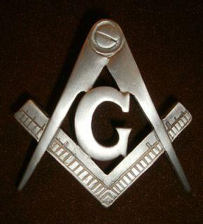 freemason, G compass and square, masonic symbol vest badge