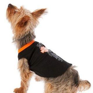 Harley Davidson Tribal Muscle Style Dog T Shirt Black W/Logo