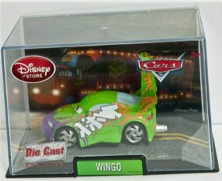 Pixar Cars 1 Wingo Die Cast Car Collector Case RARE