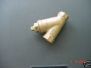 outdoor wood furnace boiler y strainer 1