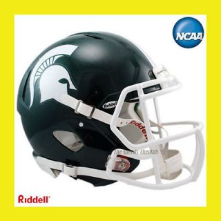 MICHIGAN STATE SPARTANS HYDROFX REVOLUTION SPEED FOOTBALL HELMET