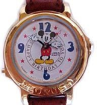 Disney Musical Happy Birthday Mickey Mouse Watch New Neat