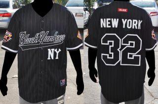 NEW YORK BLACK YANKEES short sleeve Negro League Baseball Jersey NWT M