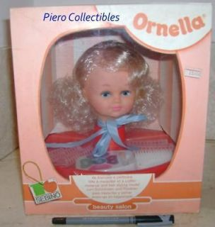 beauty salon sebino ornella styling head doll from italy time