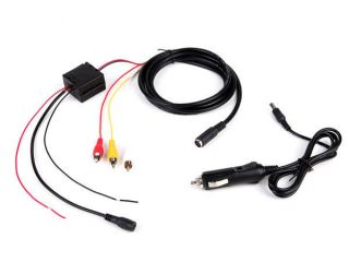 Lighter Power Cable for 7 Car Headrest DVD Player Monitor E3