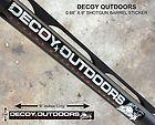 Decoy Outdoors Shot Gun Barrel Decal Sticker, Ducks Hunting, Unlimited