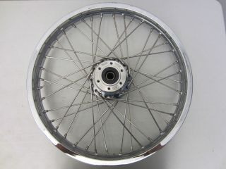 Victory Motorcycle OEM Front Wheel Chrome Rim 2.15 x 21 Vegas