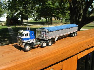 Newly listed DCP 164 Scale International Cab Over with Grain Hauler