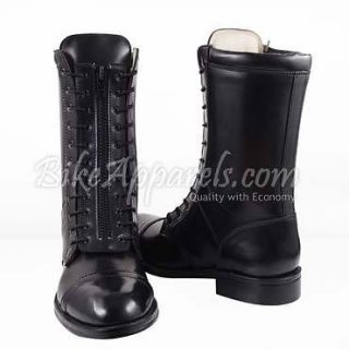 BIKER CITY MENS FASHION MID HALF CALF LEATHER STYLISH RIDING BOOTS