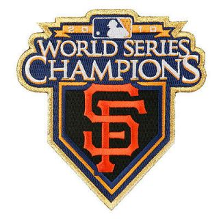 SAN FRANCISCO GIANTS RING CEREMONY GOLD JERSEY SLEEVE LOGO MLB PATCH