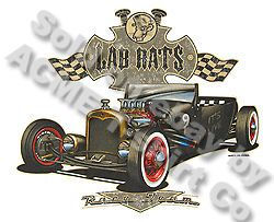 Hot Rod Apparel Rat Rod 27 Ford T Shirt 1927 Model T Roadster Sz M L