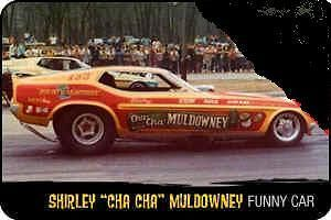 SHIRLEY MULDOWNEY 1972 MUSTANG 1/4 MILE LEGENDS 118 NHRA AW ~ 2012