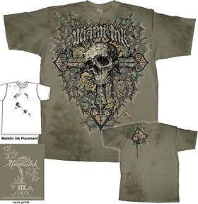 miami ink kings reasoning premium washed t shirt mim636 one